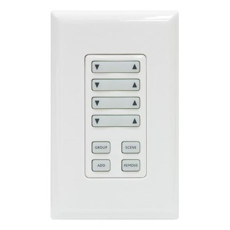 GE ZWave Stick-On Keypad Controller White